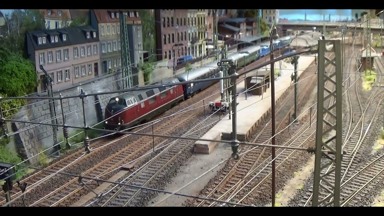 Modellbahn H0 Realistik: Ein Sommertag im Trennungs-Bahnhof Eschwege West #1