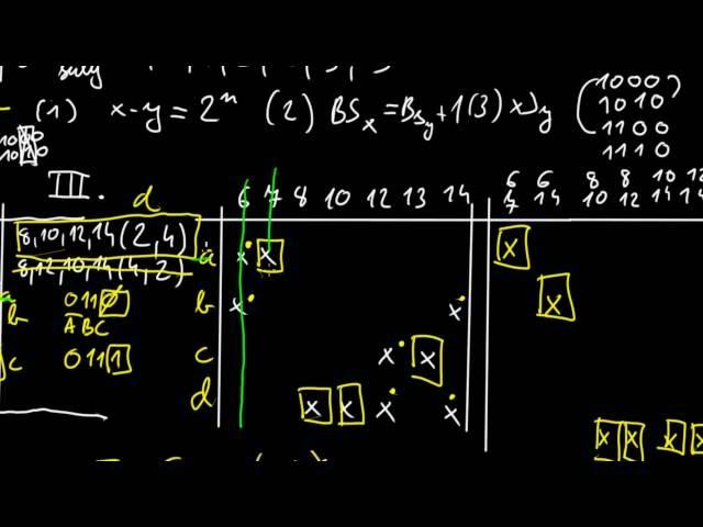 Digitális technika 1   BME - Quine McCluskey minimalizáció 12