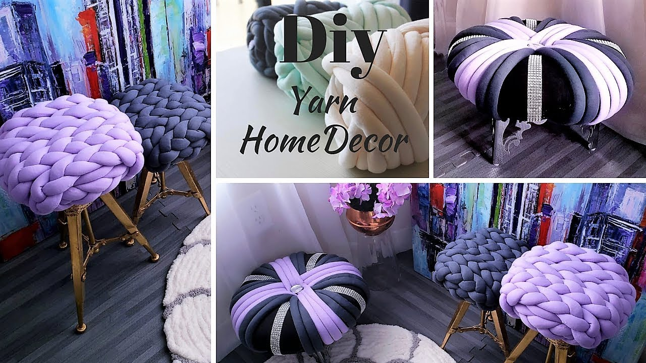 Unique Home Decors With Yarn