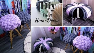 How To Make Unique Home Decors With Yarn!!!| Inexpensive Room Decorating Ideas 2019!