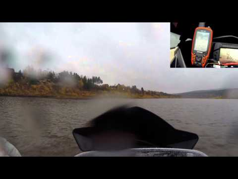 World record for distance driven on water with a snowmobile. 212km and  four hours