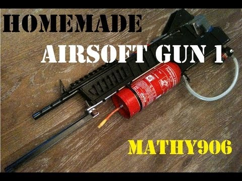 how to make simple airsoft gun