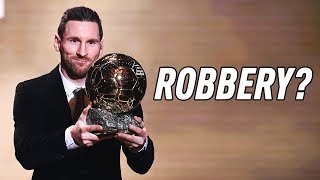 Gambar cover DID LIONEL MESSI DESERVE THE BALLON D'OR?