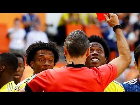 أول بطاقة حمراء للمونديال في وجه لاعب كولومبي أمام اليابان  …  - نشر قبل 17 ساعة