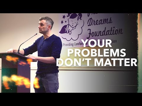 Your Problems Don't Matter, Here's Why | Talk at the Precious Dreams Foundation