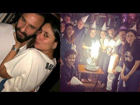 Kareena Kapoor Khan 38th BIRTHDAY party with family Karisma KapoorSaif Ali Khan Randhir Kapoor