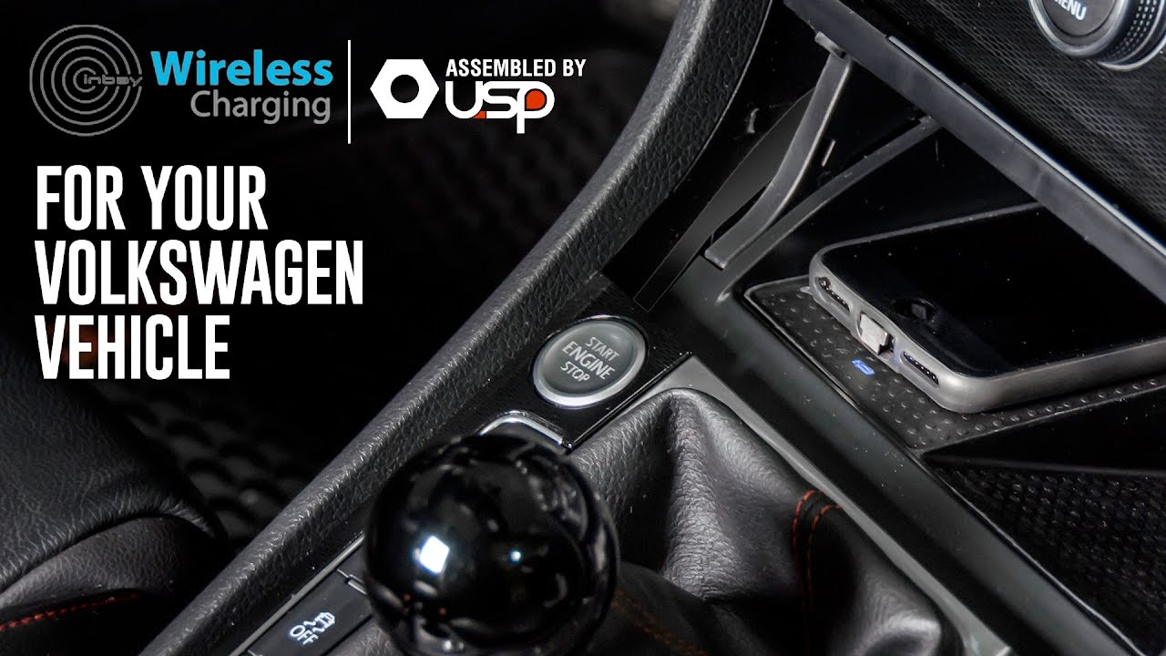 Wireless Phone Charging For Your Volkswagen Vehicle | Inbay - YouTube
