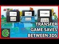 How to transfer game saves between 3DS consoles