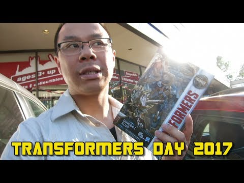 Transformers Day 2017 at Ages Three and Up
