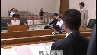(内容) 俳優辰巳琢郎さんと女優長澤奈央さんをナビゲーターに,刑事裁...