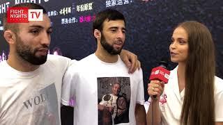 Арип Якубов. Слова после боя. FIGHT NIGHTS GLOBAL Summer Cup (China)