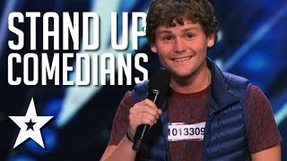 Funniest Ever Stand Up Comedians On Got Talent thumbnail