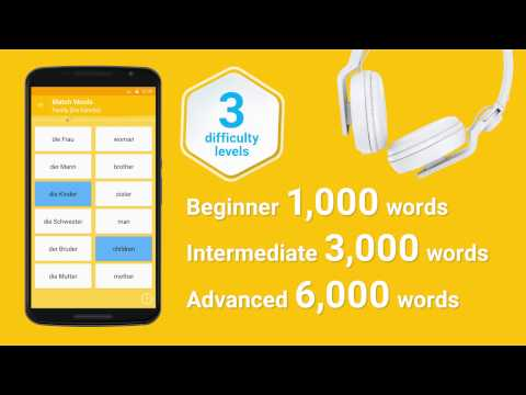 Learn German with FunEasyLearn (Android, iOS)!