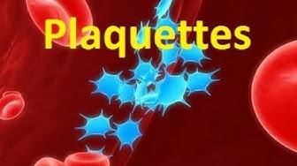 Plaquettes sanguines (thrombocytes)