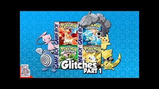 Its time for Glitches in Pokémon Red, Blue, Green, and Yellow! Ther...
