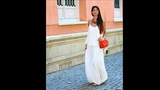 How to Wear Beautiful Maxi Skirts ad Maxi Dress for This Season