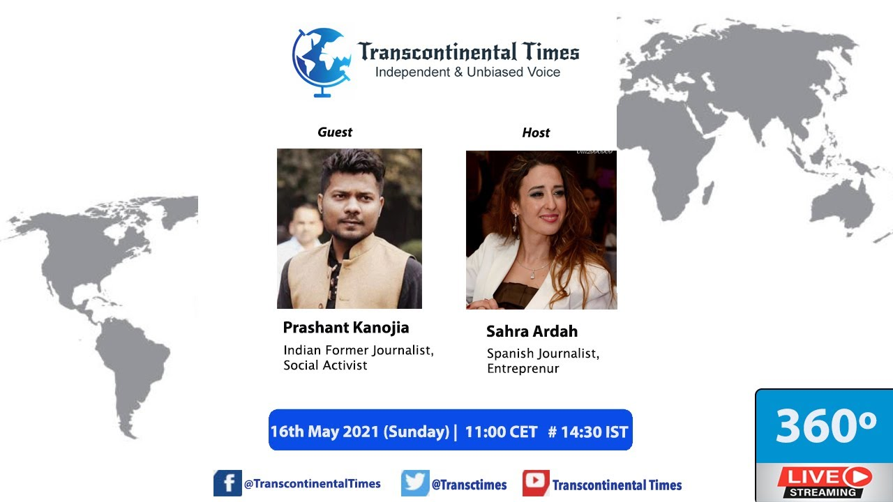 Download Indian Social Activist Prashant Kanojia In Discussion with Spanish Journalist Sahra Ardah