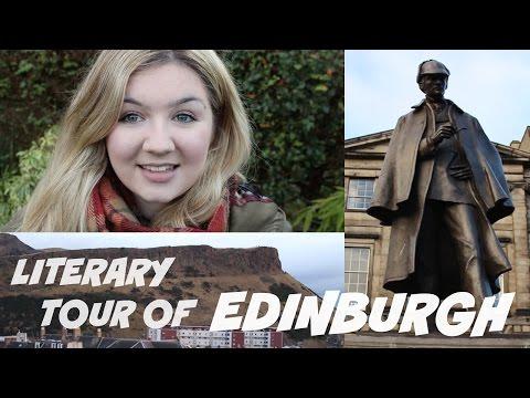 A LITERARY TOUR OF EDINBURGH with #BookBreak