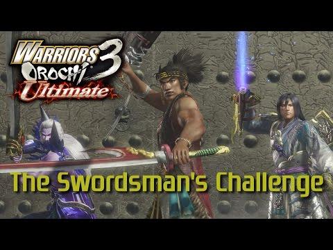 Warriors Orochi 3 Ultimate [PS4] | The Swordsman's Challenge
