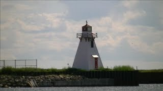 Wood Islands Range Front And Rear Lighthouse, Prince Edward Island
