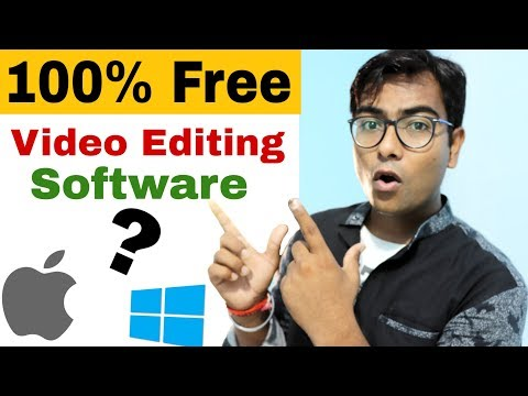 100% Free video editing software for Windows and Mac  . thumbnail