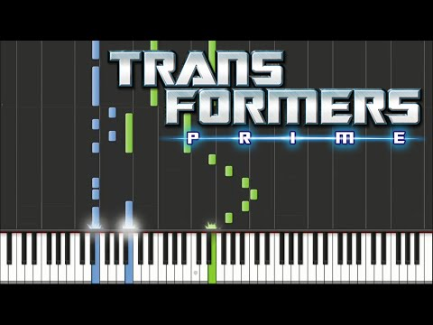 Transformers Prime - Opening Theme | Piano Tutorial