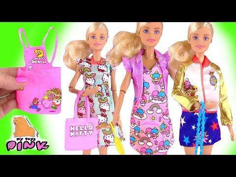 Dress Up Dolls Новые Наряды для БАРБИ! Barbie NEW OUTFITS Play ОДЕВАЛКИ КУКЛЫ БАРБИ!