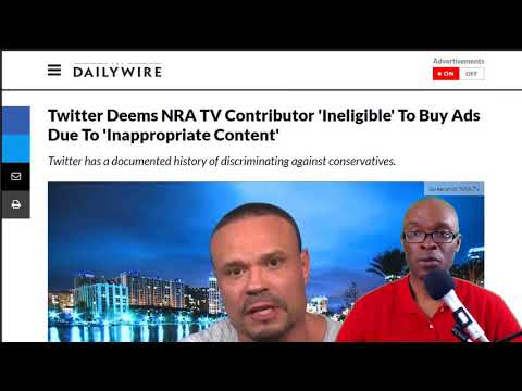 Dan Bongino Suggests Conservatives on Twitter Are Blocked From Buying Ads (REACTION)