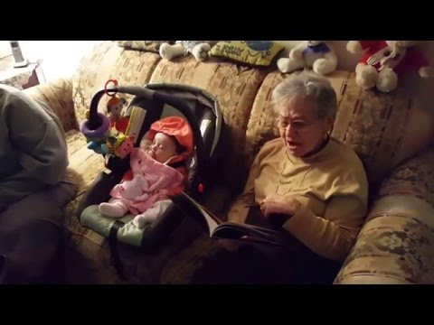 """Great-Grandma reading """"Go the F**k to Sleep"""" to her Great Grand-Daughter"""
