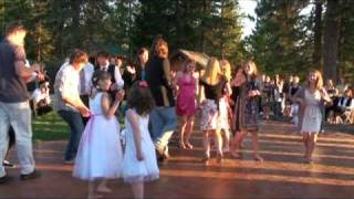 Hoedown Throwdown Surprise Wedding Dance