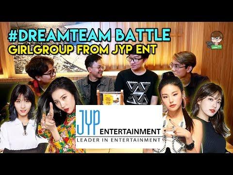 KOMPOSISI GIRL GROUP JYP TERBAIK! #DREAMTEAM battle ft. Alphi, Kevin & FYD