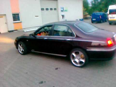rover 75 2 0 v6 150 km pokaz youtube. Black Bedroom Furniture Sets. Home Design Ideas