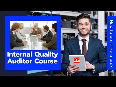 Internal Quality Auditor Course