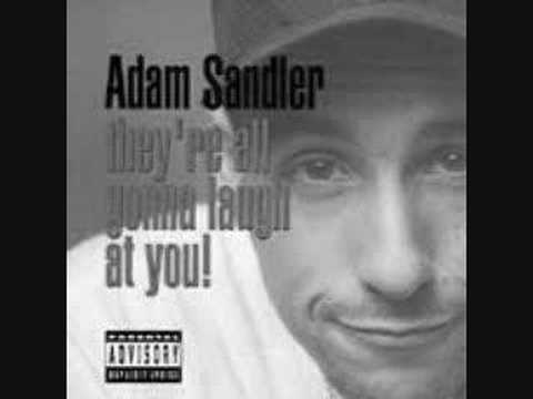 Adam Sandler: Im so wasted