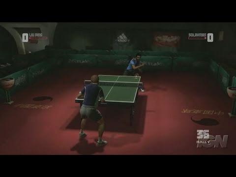 Rockstar Games Presents Table Tennis Xbox 360 Gameplay -