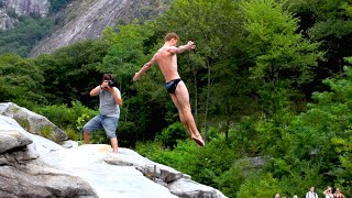 International Cliff Diving Championship 2015 | Ponte Brolla | Switzerland