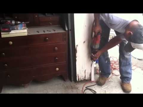 How To Replace A Termite Damaged Garage Door Jamb Part 2 Of