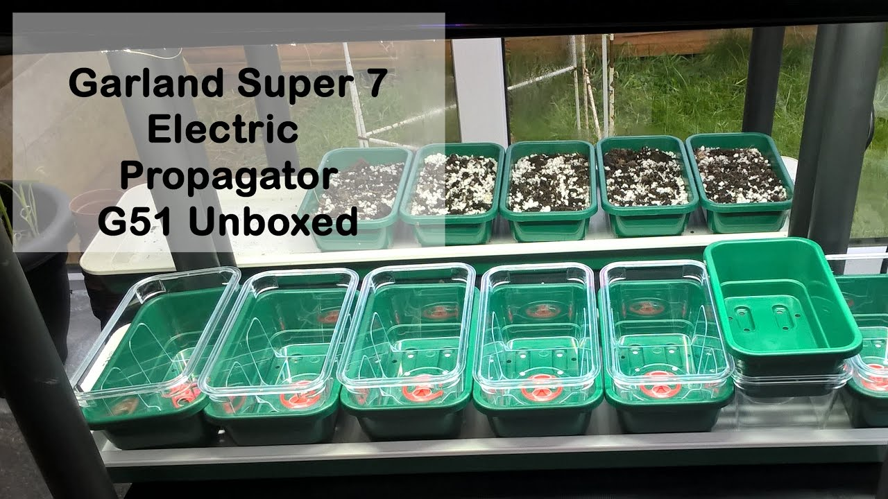 Unboxing Heated Plant Propagator