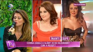 Teo Show (07.05.2018) - Cum a slabit Corina Danila 20 de kilograme Partea 4