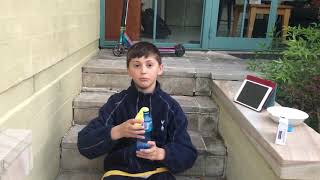 School Science Experiment: Chemical Change
