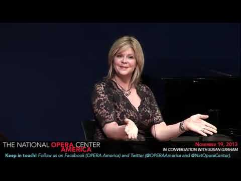 In Conversation with Susan Graham