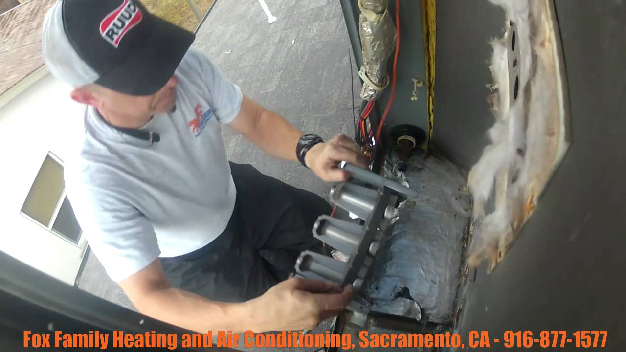 Hvac Service Calls Replacing A Trane Heat Exchanger In