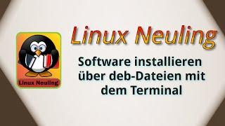 Ubuntu Software installieren von deb-Dateien über das Terminal