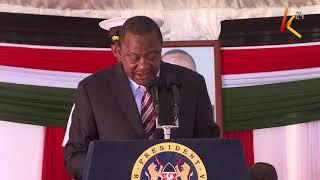 President Kenyatta : I'm confident that we've delivered