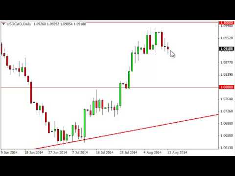 USD/CAD Technical Analysis for August 14, 2014 by FXEmpire.com