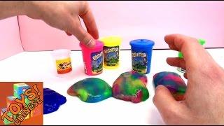 儿童玩具  会放屁的软胶泥 对比试验