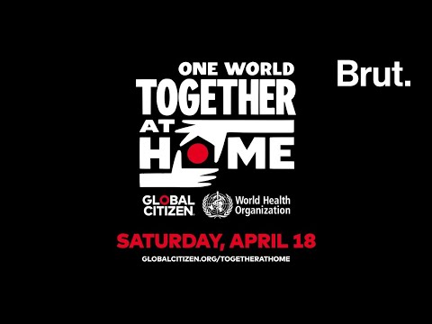 One World: Together At Home - un événement spécial en direct