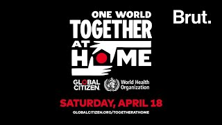 One World: Together At Home - un événement spécial en direct