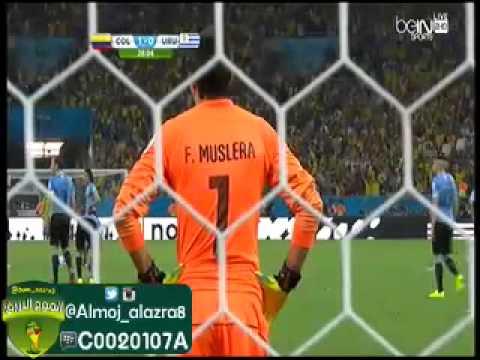 Colombia vs Uruguay 2-0 James Rodríguez