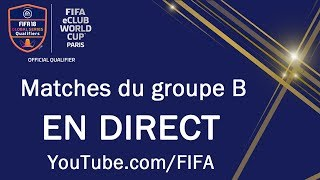FIFA eClub World Cup™ - Matches du Groupe B
